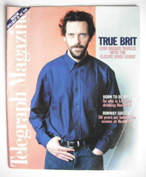 Telegraph magazine - Hugh Laurie cover (4 May 1996)