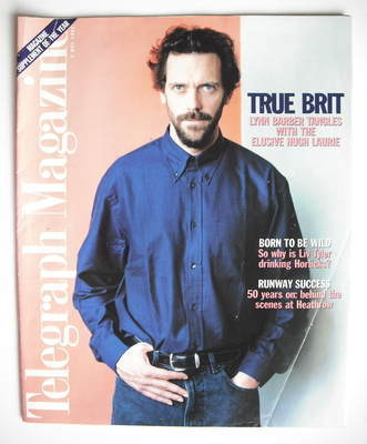 <!--1996-05-04-->Telegraph magazine - Hugh Laurie cover (4 May 1996)