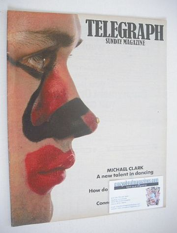 <!--1984-02-26-->The Sunday Telegraph magazine - Michael Clark cover (29 Ju