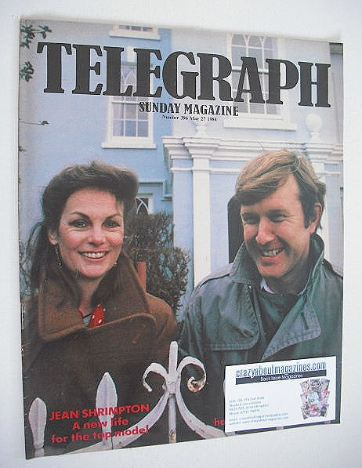 <!--1984-05-27-->The Sunday Telegraph magazine - Jean Shrimpton cover (27 M