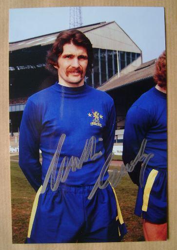 Charlie Cooke autograph