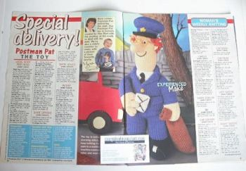 Vintage toy knitting patterns buy old sweater and toy patterns postman pat toy and sweater to knit dt1010fo