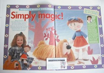 The Magic Roundabout Dougal and Florence toys to knit (by Alan Dart)