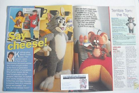Tom and Jerry toys and sweaters to knit (by Alan Dart and Gary Kennedy)