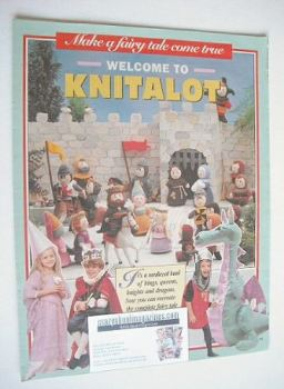 Knitalot Fairy Tale toys to knit and sew (by Alan Dart)