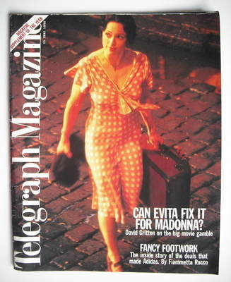 <!--1996-06-15-->Telegraph magazine - Madonna cover (15 June 1996)