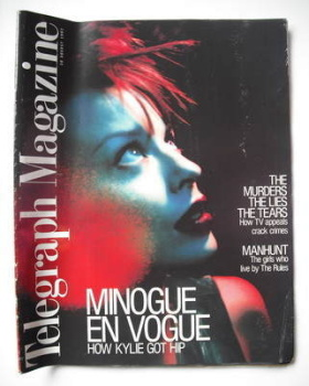 Telegraph magazine - Kylie Minogue cover (30 August 1997)