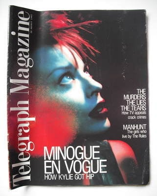 <!--1997-08-30-->Telegraph magazine - Kylie Minogue cover (30 August 1997)