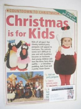 Christmas Is For Kids (toy and costume knitting/sewing patterns by Alan Dart)