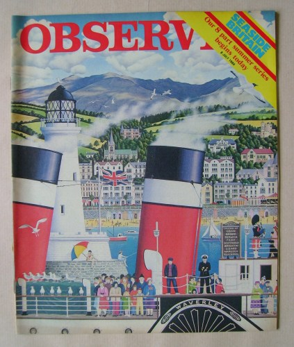 <!--1984-07-08-->The Observer magazine - 8 July 1984
