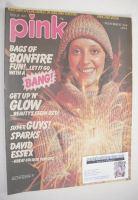 <!--1974-11-02-->Pink magazine - 2 November 1974