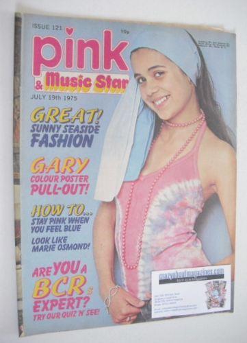 <!--1975-07-19-->Pink magazine - 19 July 1975