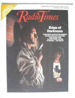 <!--1985-11-02-->Radio Times magazine - Edge of Darkness cover (2-8 November 1985)