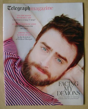 <!--2016-07-02-->Telegraph magazine - Daniel Radcliffe cover (2 July 2016)