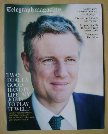 <!--2016-02-13-->Telegraph magazine - Zac Goldsmith cover (13 February 2016
