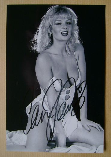 Candy Davis autograph (hand-signed photograph)