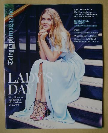 <!--2016-06-11-->Telegraph magazine - Lady Kitty Spencer cover (11 June 201
