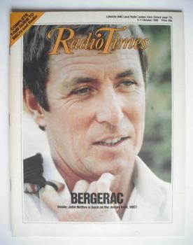 Radio Times magazine - John Nettles cover (5-11 October 1985)