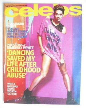Celebs magazine - Kimberly Wyatt cover (27 June 2010)