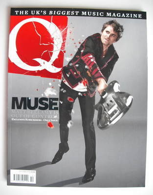 <!--2009-10-->Q magazine - Muse cover (October 2009 - Subscriber's Issue)