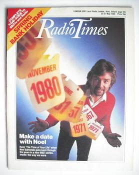 Radio Times magazine - Noel Edmonds cover (25-31 May 1985)