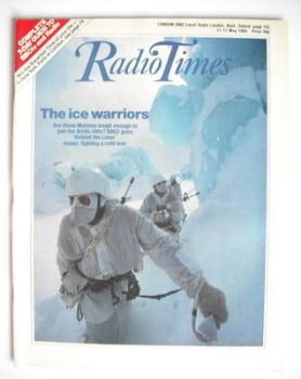Radio Times magazine - The Ice Warriors cover (11-17 May 1985)