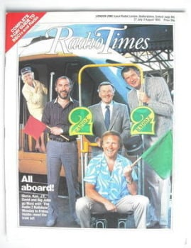 Radio Times magazine - All Aboard cover (27 July - 2 August 1985)