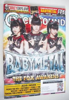 Rock Sound magazine - Babymetal cover (May 2016)