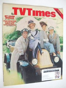 TV Times magazine - My Good Woman cover (20-26 July 1974)