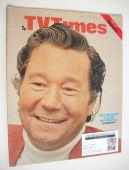 TV Times magazine - Reg Varney cover (11-17 August 1973)