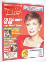 <!--1992-04-25-->TV Times magazine - Marti Caine cover (25 April-1 May 1992)