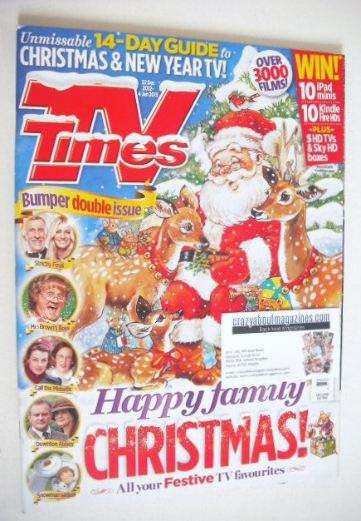 <!--2012-12-22-->TV Times magazine - Christmas issue (22 December 2012 - 4