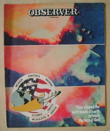 <!--1986-02-09-->The Observer magazine - 9 February 1986