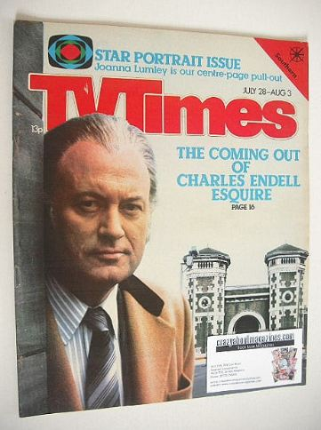 <!--1979-07-28-->TV Times magazine - Charles Endell Esquire cover (28 July