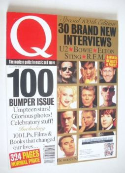Q magazine - 100th Issue (January 1995)