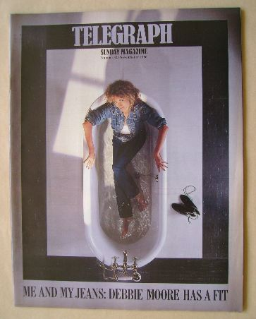 <!--1986-11-16-->The Sunday Telegraph magazine - Debbie Moore cover (16 Nov