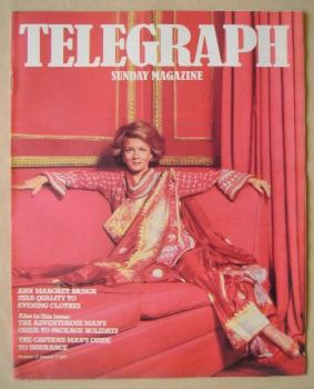 The Sunday Telegraph magazine - Ann Margaret cover (9 January 1977)