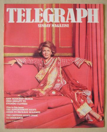 <!--1977-01-09-->The Sunday Telegraph magazine - Ann Margaret cover (9 Janu