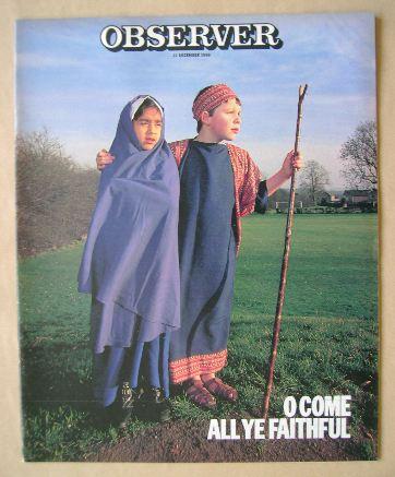 <!--1986-12-09-->The Observer magazine - 21 December 1986