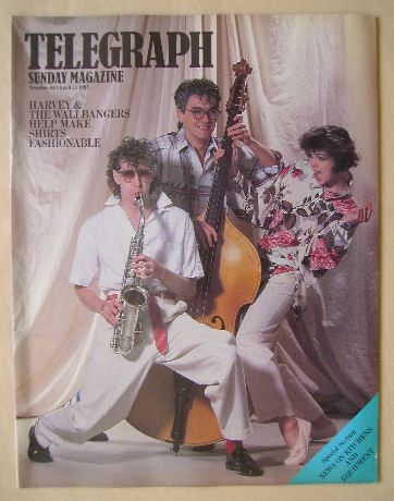 <!--1985-04-21-->The Sunday Telegraph magazine - Harvey & The Wallbangers c