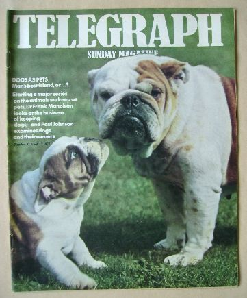 <!--1977-04-17-->The Sunday Telegraph magazine - 17 April 1977