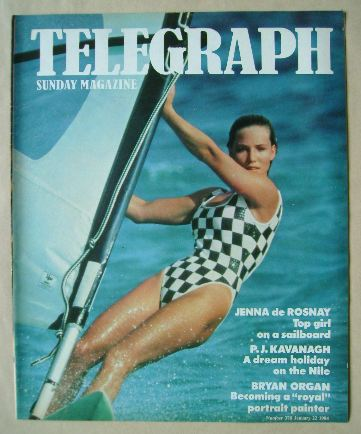 <!--1984-01-22-->The Sunday Telegraph magazine - Jenna de Rosnay cover (22