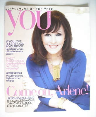 <!--2010-07-25-->You magazine - Arlene Phillips cover (25 July 2010)