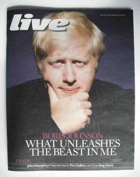 Live magazine - Boris Johnson cover (25 July 2010)