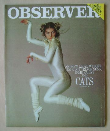 <!--1981-04-26-->The Observer magazine - 26 April 1981