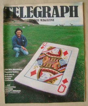 The Sunday Telegraph magazine - Archie Brennan cover (5 December 1976)