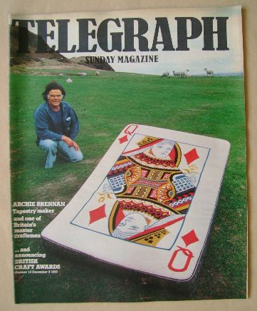 <!--1976-12-05-->The Sunday Telegraph magazine - Archie Brennan cover (5 De