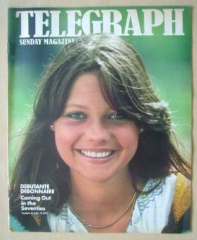 The Sunday Telegraph magazine - Debonnaire Patterson cover (10 July 1977)