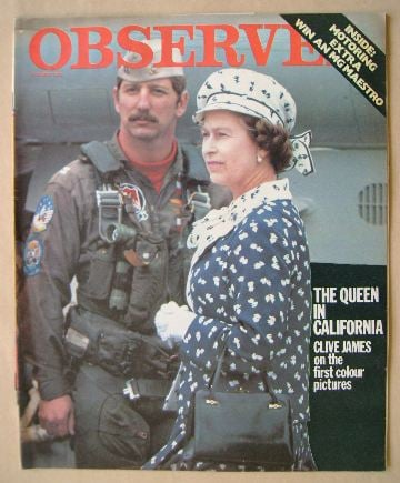 <!--1983-03-13-->The Observer magazine - The Queen cover (13 March 1983)