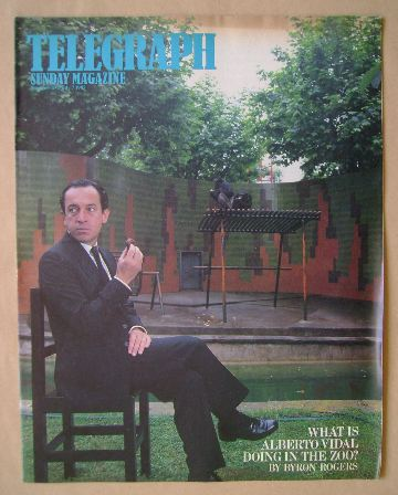 <!--1985-07-07-->The Sunday Telegraph magazine - Alberto Vidal cover (7 Jul